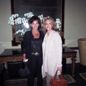 Texas comes to L.A. May 2009, Numerologist Jill Saint James and Margaret after a long day of interviews